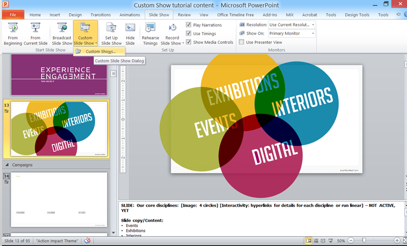 presentation wiz navigate your powerpoint presentation like a
