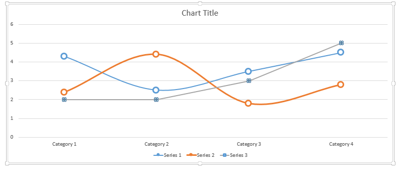 Select Data Series (on Chart)